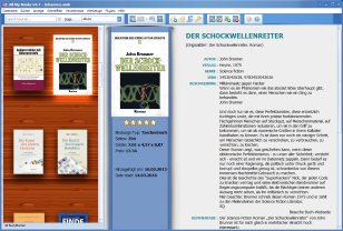 Screenshot Literaturverwaltung AllMyBooks