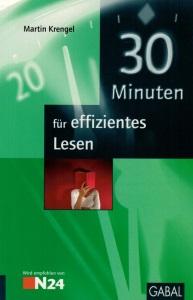 Buchcover 30 Minuten für effizientes Lesen