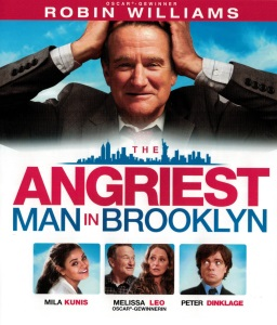 Blue-Ray Cover: The Angriest Man in Brooklyn