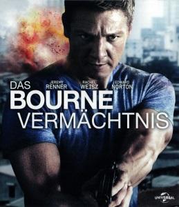 Blue-Ray Cover: Das Bourne Vermächtnis