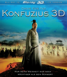 Blue-Ray Cover: Konfuzius 3D