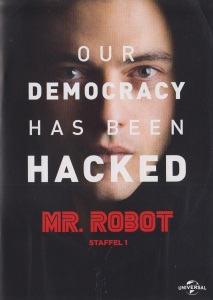 DVD-Cover: Mr. Robot - Staffel 1