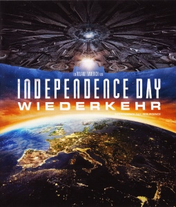 Blue-Ray Cover: Independence Day - Wiederkehr
