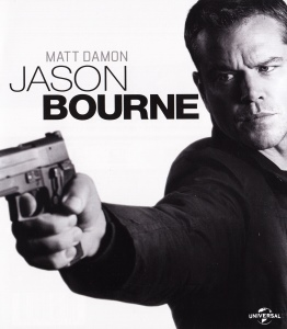 Blue-Ray Cover: Jason Bourne