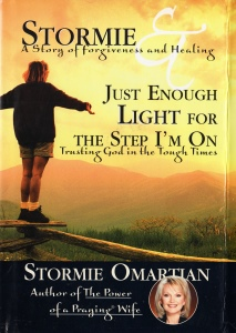 Book cover: Stormie Omartian - Just enough light for the step I'm on