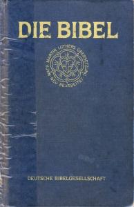 Titelseite: Die Bibel