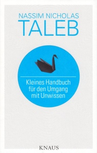 Buchtitel: Kleines Handbuch für den Umgang mit Unwissen
