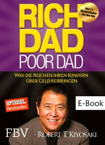 E-Book Titelseite: Rich Dad - poor Dad