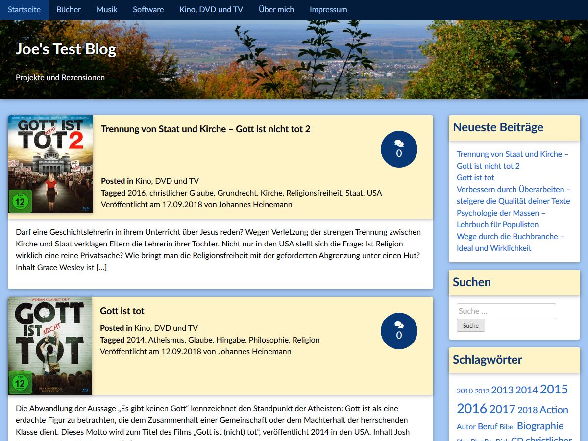 Book Review – mein eigenes WordPress-Theme