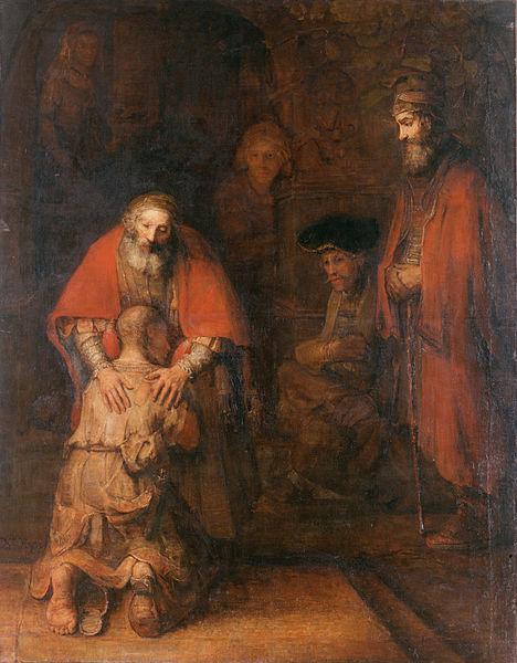 Gemälde: Rembrandt - Die Rückkehr des verlorenen Sohns