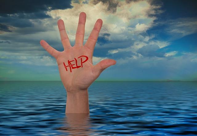 Regel Nr. 6: wenn du Hilfe brauchst, frag nach Hilfe