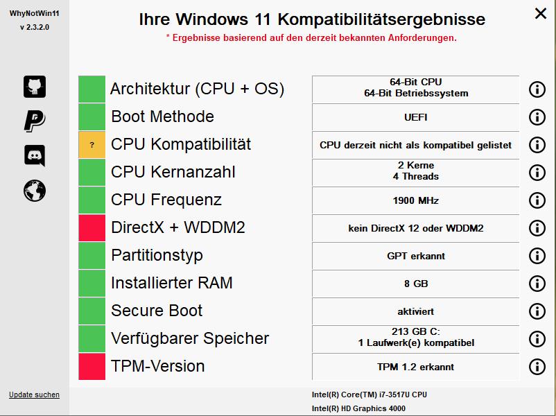 Elektronikschrott durch Windows 11?